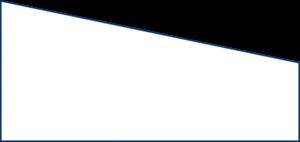 Spannbettlaken mit einer schrägen Seite